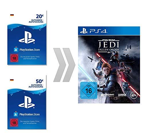 PSN Guthaben-Aufladung für Star Wars Jedi: Fallen Order | PS4 Download Code - deutsches Konto