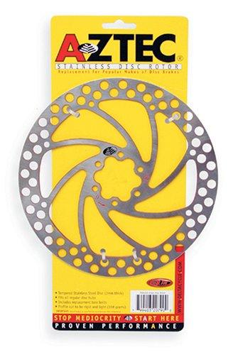 Aztec de Repuesto para Bicicleta Freno de Disco Rotor, Plata