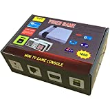 1000 Retro Classic Video Game Console AV Output Mini NES Console 1000 in 1 Built-in Plug and Play Video Games with 2 Controllers Handheld Games for Kids & Adults