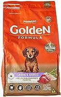 Ração Golden Fórmula Mini Bits para Cães Filhotes Raças Pequenas Sabor Carne e Arroz, 3kg Premier Pet Para Todas Pequeno...