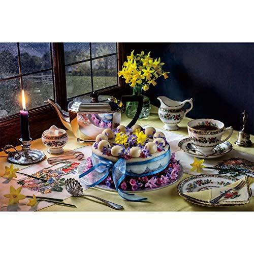Rompecabezas de 1000 Piezas, Serie Sneak Peek, Pastel de Flores, IG-0946, Juguetes de Entretenimiento para Adultos, graduación Especial o Regalo de cumpleaños, decoración del hogar