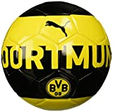 PUMA BVB Fan Fußball, Cyber Yellow Black, 5
