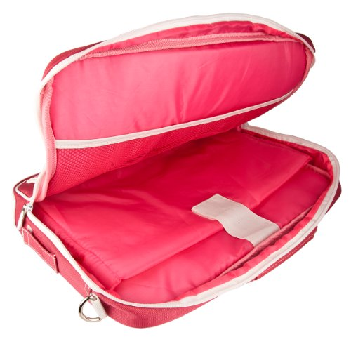 """VanGoddy Pindar Pink Laptop Bag w/Accessories for iBall CompBook/iBall Slide 10""""-12inch"""