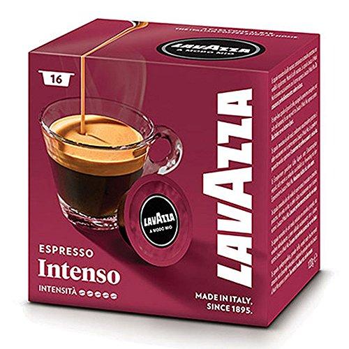 Lavazza A Modo Mio Espresso Intenso 16 Cápsulas de Cafetera