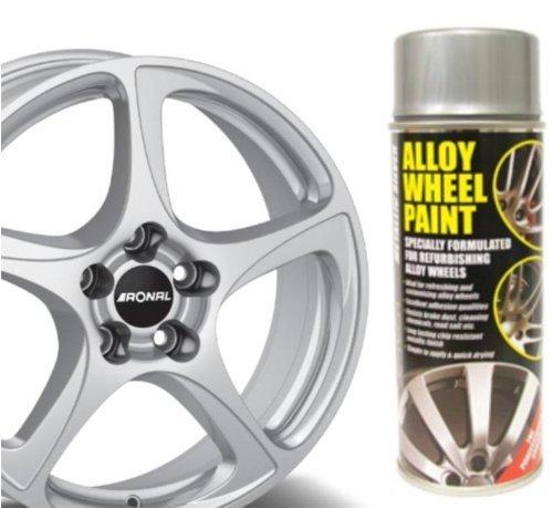 Auto Inpart Metallic Silver E-TECH Alloy Wheel Paint Chip resistant Wheel refurb