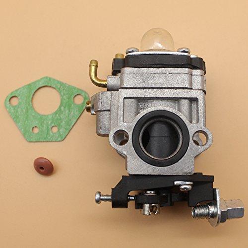 Carburador Carb Válvula Check para Mitsubishi TL43TL52TU43TU52TL cepillo cortador cortadora de césped ventilador 43cc 52cc motor