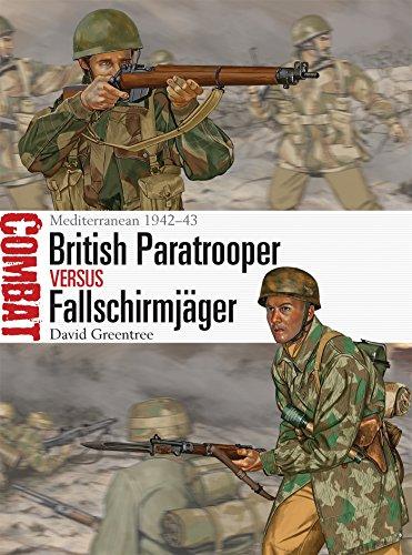 British Paratrooper vs Fallschirmjäger: Mediterranean 1942–43 (Combat, Band 1)