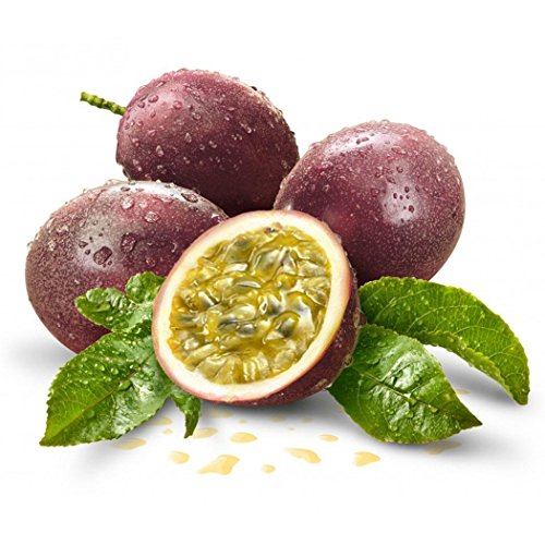 Cioler 20Samen Passionsfrucht Samen Maracuja Samen Obstsamen Obst Bäume Outdoor Obst Samen Fruchtsamen für Garten Pflanzen