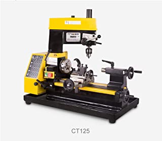 220V 180W Multi-function Mini Lathe Machine Desktop DIY Drilling Milling Machine Tool Kit for Watches Repair, Machinery Parts DIY, Lab Teaching and More Industry Scene