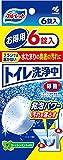 トイレ洗浄中 水洗トイレの便器の底(水溜り部分)洗浄剤 フレッシュミントの香り 6錠