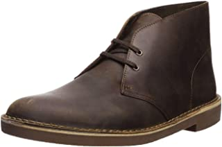 Clarks Men's Bushacre 2 Chukka Boot,Beeswax,10 M US