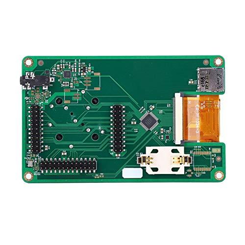 Tarjeta de Transceptor de Radio, PortaPack para HackRF One Control Transceptor de Radio con Todas las Funciones, 1MHz-6GHz