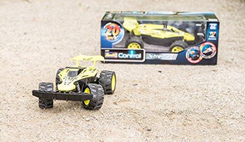 RC Buggy kaufen Buggy Bild 1: Revell Control X-treme RC Car - schnelles, sehr robustes ferngesteuertes Auto als Buggy mit 2,4 GHz Fernsteuerung, Batterienbetrieben - Akku kann nachgerüstet werden - PYTHON 24807*
