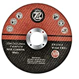 ZHONG AN Cutting Wheel, 30 Pack Cut Off Wheels, 5'x3/64'x7/8' Metal & Stainless Steel Cutting Discs for Angle Grinder