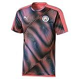 PUMA 2019-2020 Manchester City Stadium - Camiseta de Manga Corta, Adulto, Rosa, XL Adults - 44-46' Chest