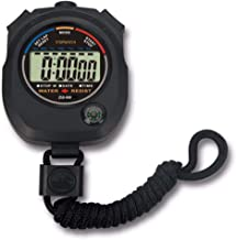 Pgzsy 1 Pack Multi-Function Electronic Digital Sport Stopwatch Timer, Large Display with Date Time and Alarm Function,Suit...