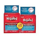 Megared Omega 3 - Aceite de Krill Complemento Alimenticio sin Regusto a Pescado 60 + 20 cápsulas...