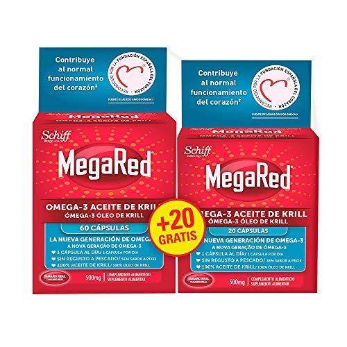 Megared Omega 3 - Aceite de Krill Complemento Alimenticio