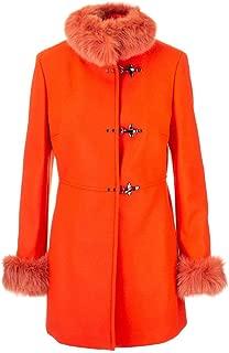Fay Luxury Fashion Womens NAW5039400URCPG817 Orange Coat | Fall Winter 19