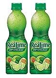Realime 100% Lime Juice, 15 oz (2 PACK)