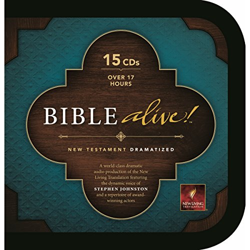 Bible Alive! New Testament                   By:                                                                                                                                 Tyndale House Publishers                               Narrated by:                                                                                                                                 Stephen Johnston                      Length: 18 hrs and 15 mins     Not rated yet     Overall 0.0