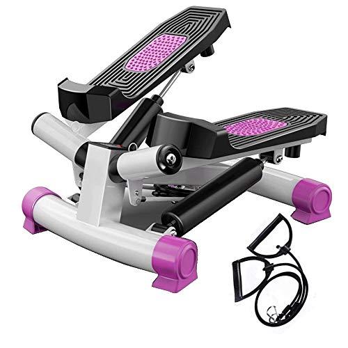 Stepper Free-Installation Silent Hydraulic Step Fitness Máquinas de Ejercicios Equipo Portátil de Escalera Giratoria con Cómodos Pedales