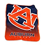 Logo Brands NCAA Auburn Tigers Raschel Throw, One Size, Team Color