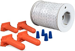 PetSafe Twisted Wire Kit for In-Ground Fence, 100 ft of Pre-Twisted Wire for Faster Installation