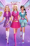 """Barbie: Notebook/Journal for Writing, College Ruled Size 6"""" x 9"""", 110 Pages"""