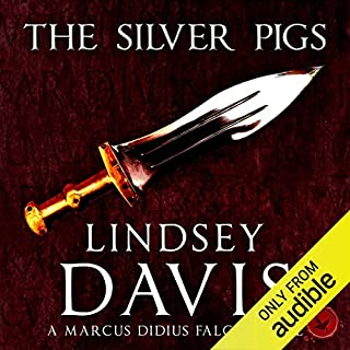 The Silver Pigs     Marcus Didius Falco, Book 1              By:                                                                                                                                 Lindsey Davis                               Narrated by:                                                                                                                                 Christian Rodska                      Length: 9 hrs and 10 mins     464 ratings     Overall 4.4