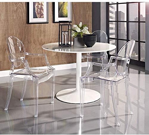 Silla de comedor silla transparente estilo moderno,A