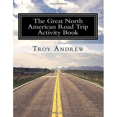 The Great North American Road Trip Activity Book