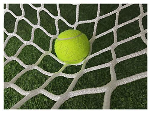 Replacement Tennis Net, Softball Bounce Back Net Baseball Net Practice Soccer Goal Nets Backstop Netting Backyard Outdoor Sports Barrier Hockey Net Rebounder, for Catching Balls Ball Stop, White