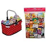 Tanner 40913 Kaufladen, Mehrfarbig & 2079.3 - Großer Kaufladenbeutel, verschiedene Marken (Auswahl nicht möglich)