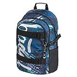 Schulrucksack für Jungen Teenager - Skateboard Rucksack - Kinderrucksack mit Laptopfach und...