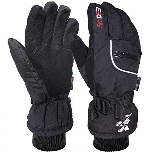 SKYDEER Waterproof Deerskin Suede Leather Winter...
