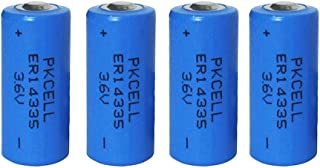 ER14335 2/3AA 3.6V 1650mAh Primary Lithium Battery Non-Rechargeable Battery 4-Pack