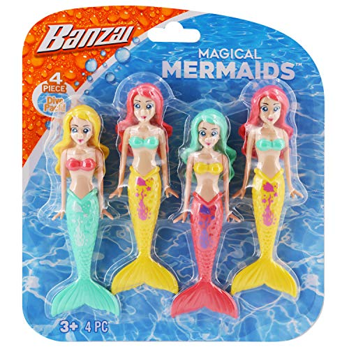 BANZAI Los Colores de Las Sirenas de Buceo Pueden Variar