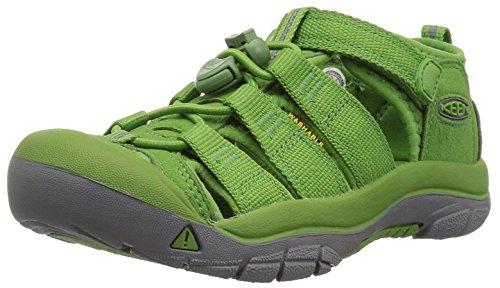 Keen Unisex-Kinder Newport H2 Sandalen Trekking-& Wanderschuhe, Grün (Fluorite Green), 27/28