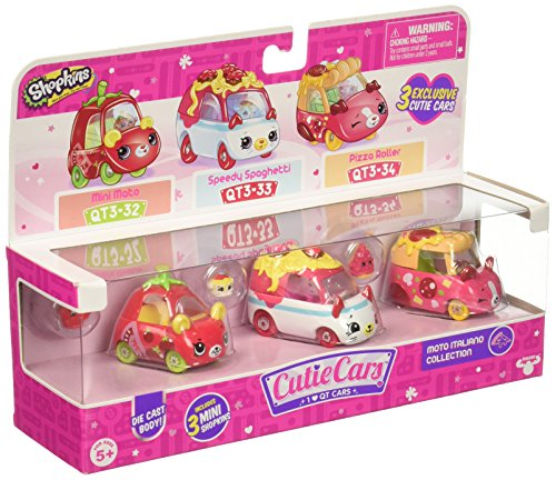 Shopkins S3 3 Pack - Moto Italiano