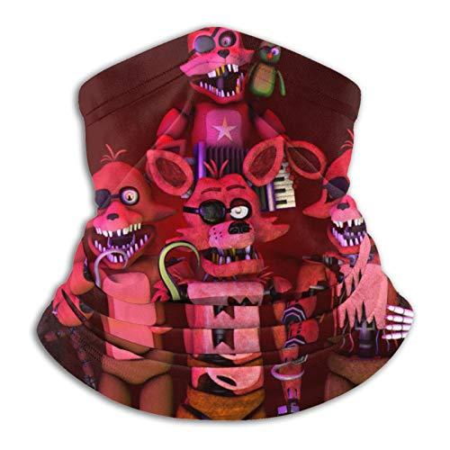 Freddie'S Five Nights At Freddy'S - Pasamontañas unisex multifunción para el cuello, protección contra el viento