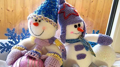 GAGALAM Adultos Rompecabezas 500 Piezas Muñeca De Navidad DIY Decoración Creativa para El Hogar 20.5x15in(52x38cm)