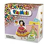 PlayMais Mosaic Dream Princess Kit de Manualidades para niñas y niños a Partir de 3 años | 2300 Piezas y 6 Plantillas de mosaicos con Princesas | estimula la Creatividad y la motricidad