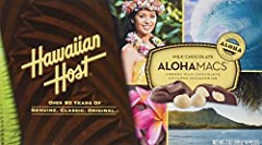 Hawaiian Host Macadamia Chocolate 7 oz(14 Pieces per box). It is a perfect box to indulge your sweet tooth! A thoughtful gift for Family and Friends, Co-workers, Teachers, Neighbors or Anyone with a Sweet Tooth! Great Gift For Birthday, Thank You, Th...