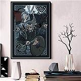 ruyanruomeng Cuadro Sin Marco Cuadros De Pared Vikingos Serie De TV Clásica Cartel E Impresiones Lienzo Decorativo para El Hogar Cuadro De Arte A737 (40X60Cm)
