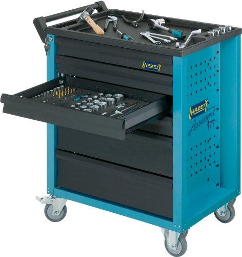HAZET Werkstattwagen Assistent (4 flache und 2 hohe Schubladen, Traglast pro Schublade 20 kg, Gesamttragkraft (statisch): 300kg) 177-6 - 4