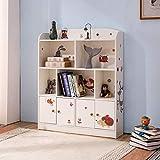 Emall Life Estantería y almacenamiento para niños, organizador de libros y juguetes, estantería...
