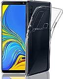 Coque transparente antichoc compatible avec Samsung A9-2018, coque transparente conçue pour Samsung...