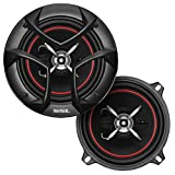 Sound Storm Laboratories CG553 5.25 Inch Car Speakers - 250 Watts of Power Per Pair, 125 Watts Each, Full Range, 3 Way, Sold in Pairs