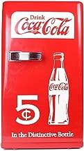 GONGFF Mini Fridge Coca-Cola 12L Mini Refrigerator,Small Household Refrigeration Car Freezer Dormitory Student Portable Reefer